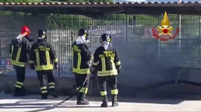 vigili del fuoco gas