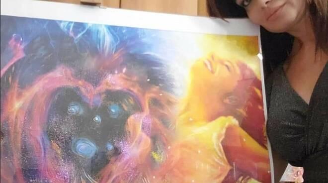 Ylenia Paladino quadro artista