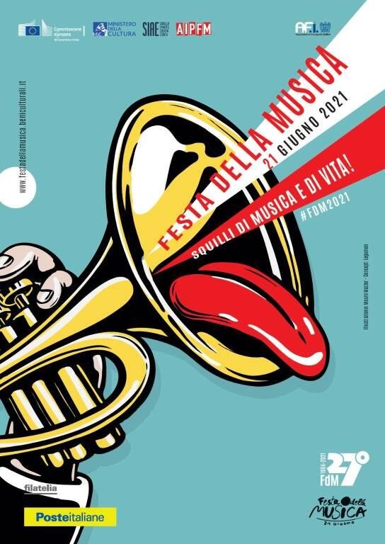 Cartoline Festa della Musica poste