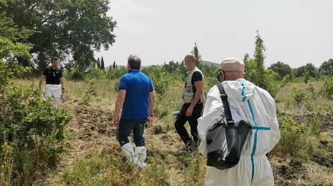 Castelmauro fusti scavi de Notaris
