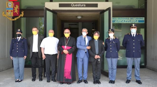 cerimonia vescovo questura campobasso