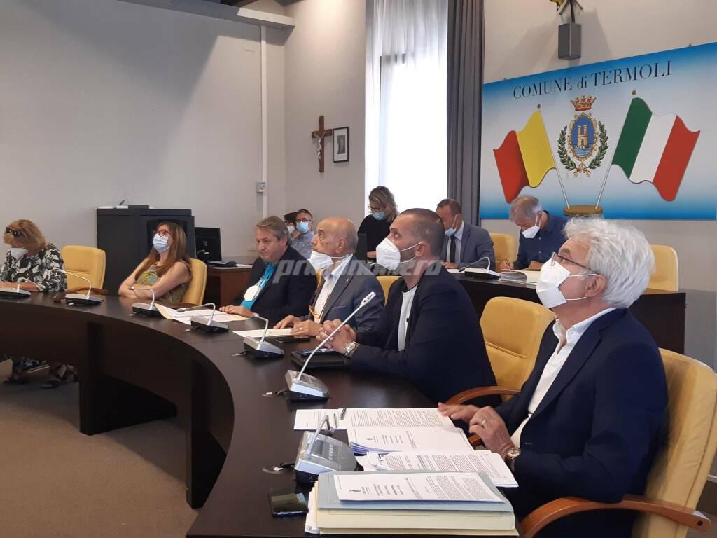Consiglio comunale Termoli 28 giugno 2021