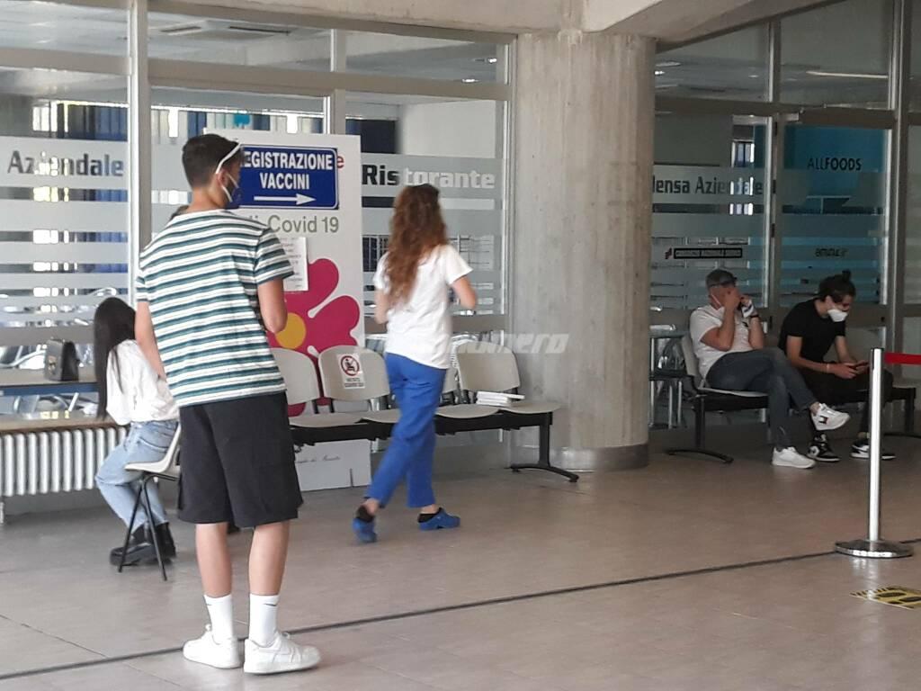 Vaccini studenti maturandi ospedale Cardarelli di Campobasso covid pfizer