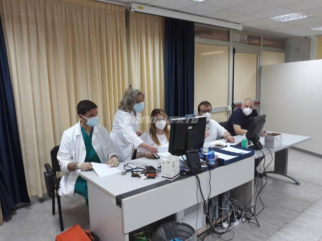 Antonietta Licianci Vaccini studenti maturandi ospedale Cardarelli di Campobasso covid pfizer