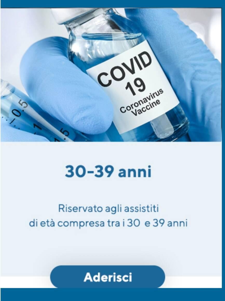 trentenni prenotazione vaccino