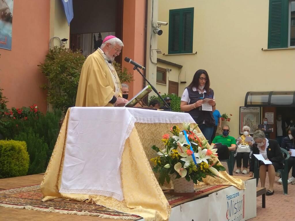 Campobasso messa di Corpus Domini senza misteri