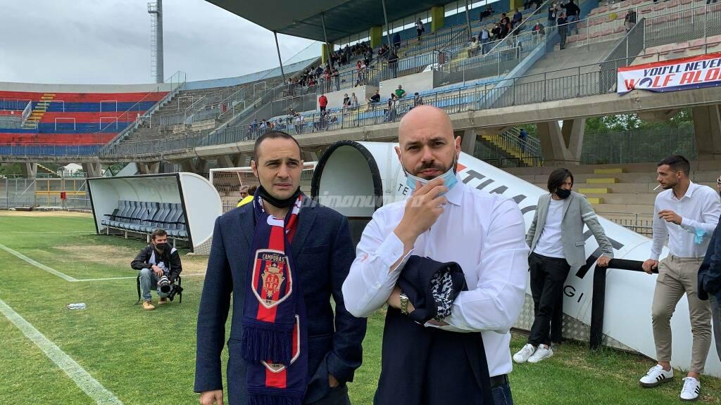 Mario Rizzetta e Mario Gesuè presidenti Campobasso Porto Sant'Elpidio