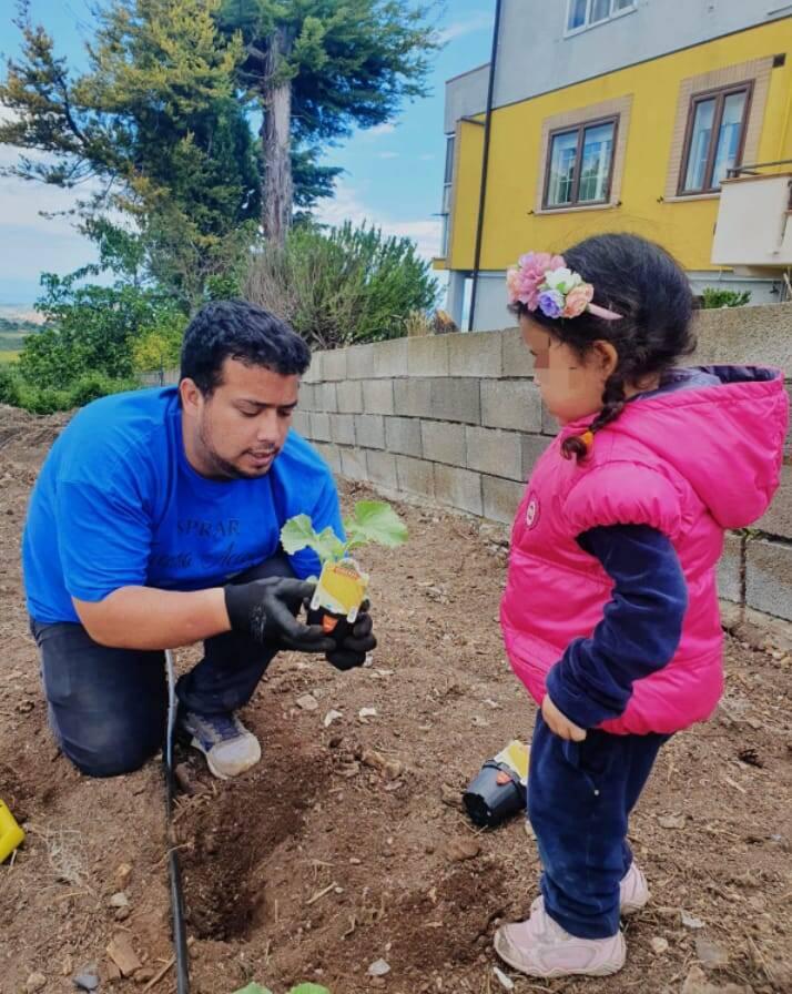 progetto hope, orto, agricoltura