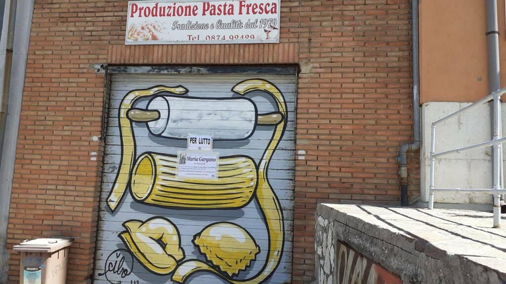 negozio di pasta fresca Maria Gargano decesso Campobasso
