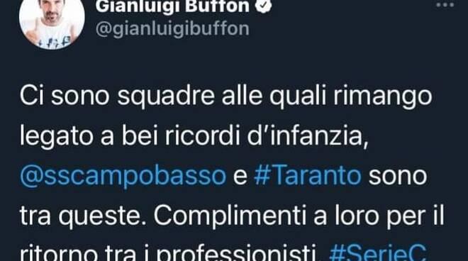 Messaggio Buffon Campobasso