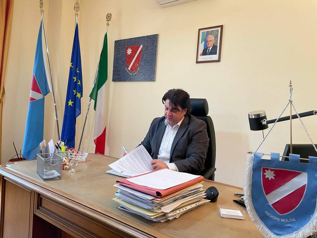 Roberto Di Baggio sottosegretario regione molise