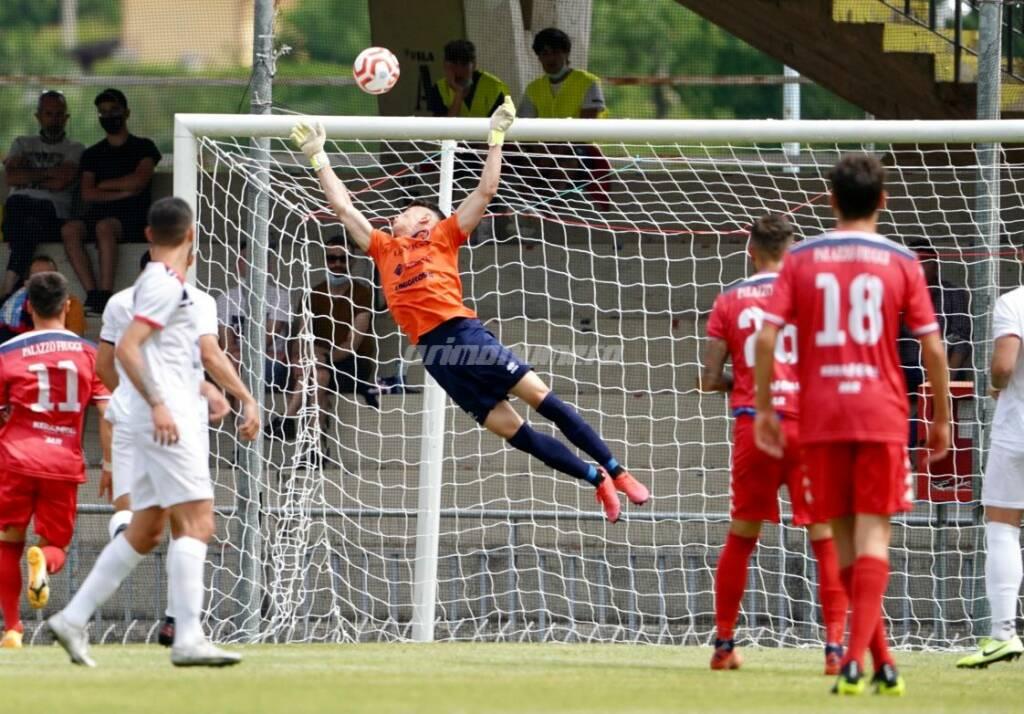 Campobasso calcio Fiuggi traversa