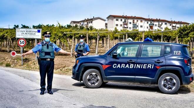 carabinieri san martino in pensilis