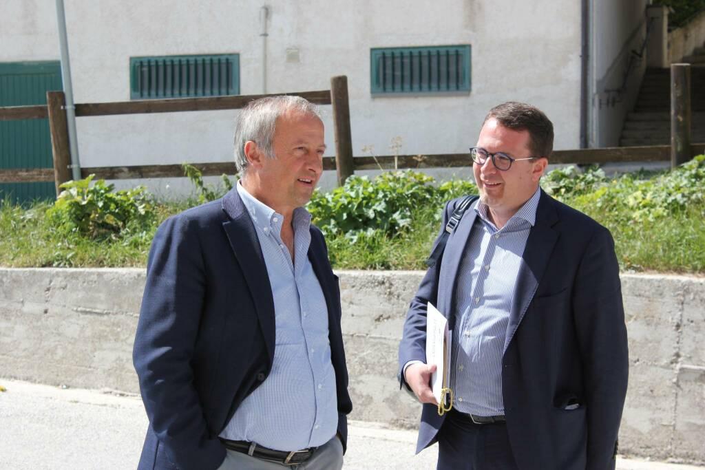 Candido Paglione e Marco Bussone