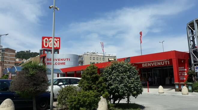 Supermercato Oasi di Campobasso tamponi dipendenti positivi covid