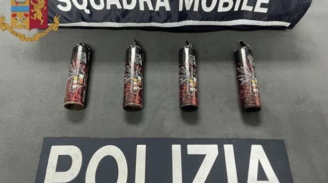 squadra mobile negozio trasformato bazar cocaina