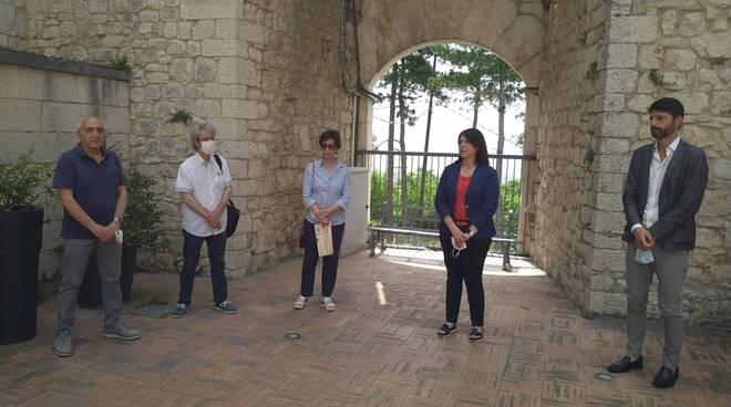 Musica in città presentazione Castello Monforte Campobasso