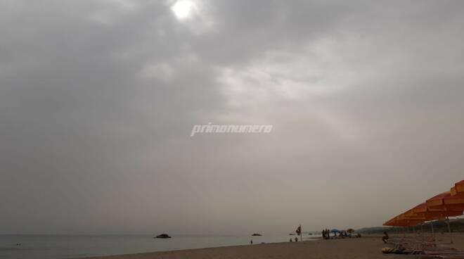 afa caldo sabbia meteo