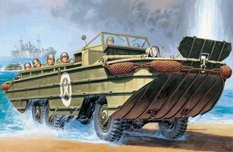 anfibio dukw seconda guerra mondiale alleati