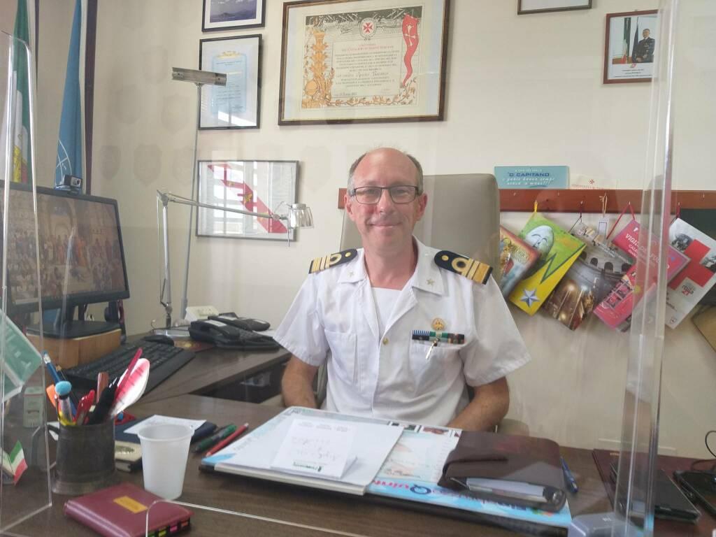 comandante nacarlo capitaneria porto