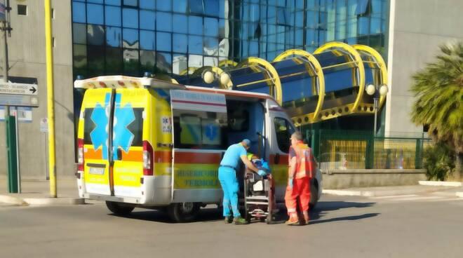 investimento via martiri resistenza scrigno ambulanze termoli