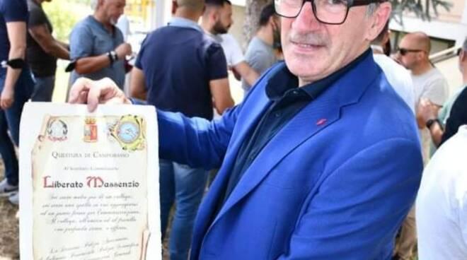Ispettore liberato Massenzio polizia