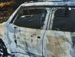 Jeep rubata e bruciata Campobasso rapina