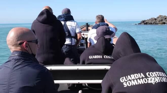 Mare pulito guardia costiera