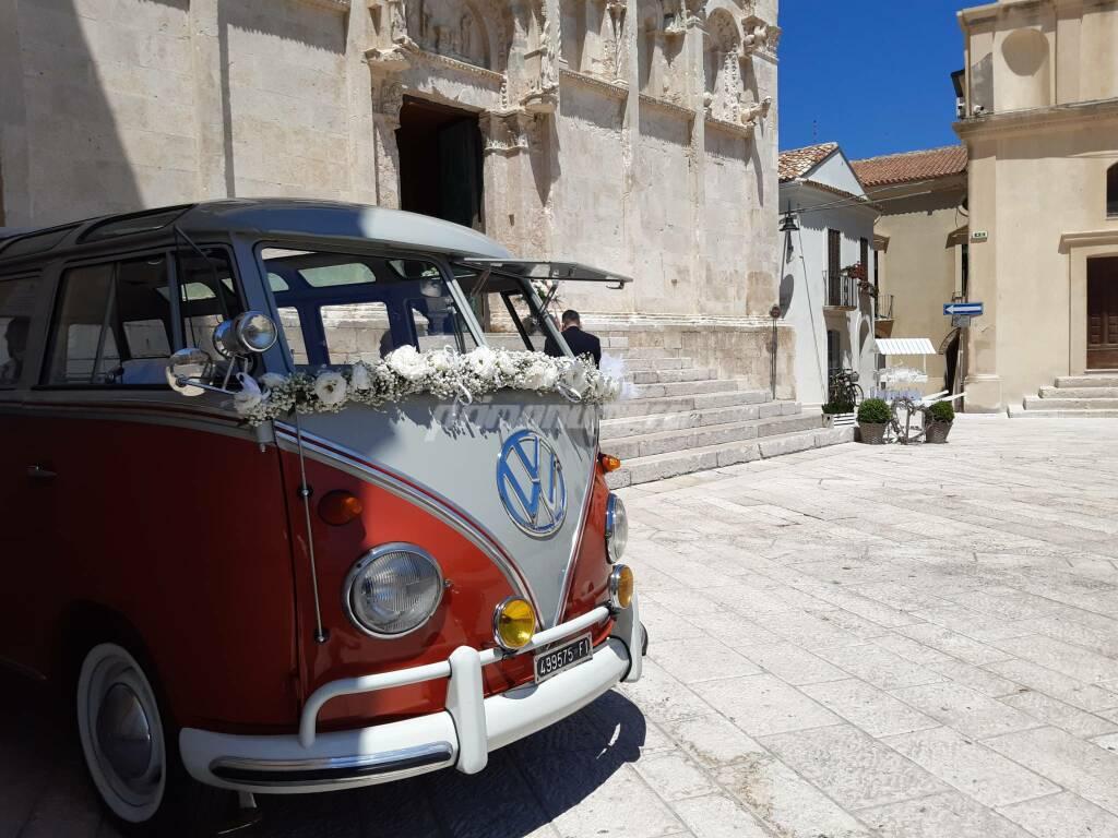 Matrimonio cattedrale termoli furgoncino Volkswagen