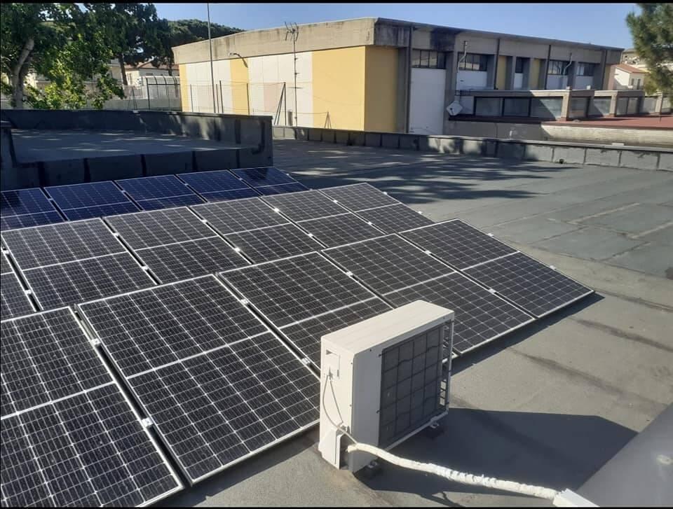 pannelli solari portocannone