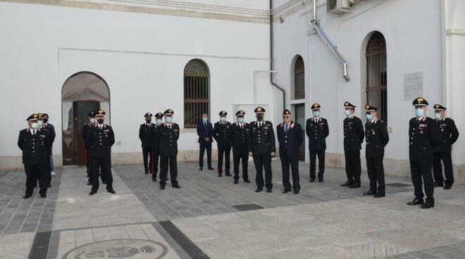 Premiazione carabinieri campobasso