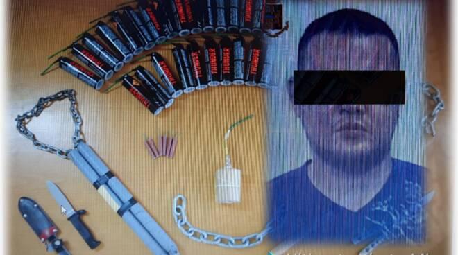 Terror bomber arresto polizia
