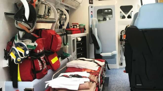 118 ambulanza interno
