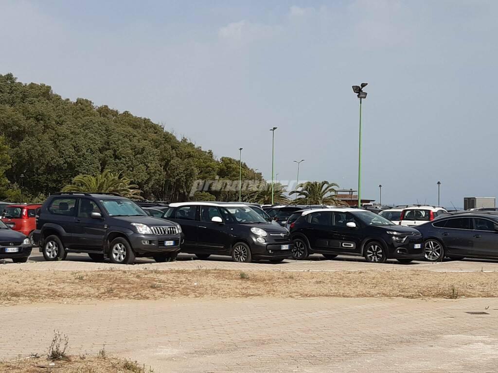 Area parcheggio Petacciato marina
