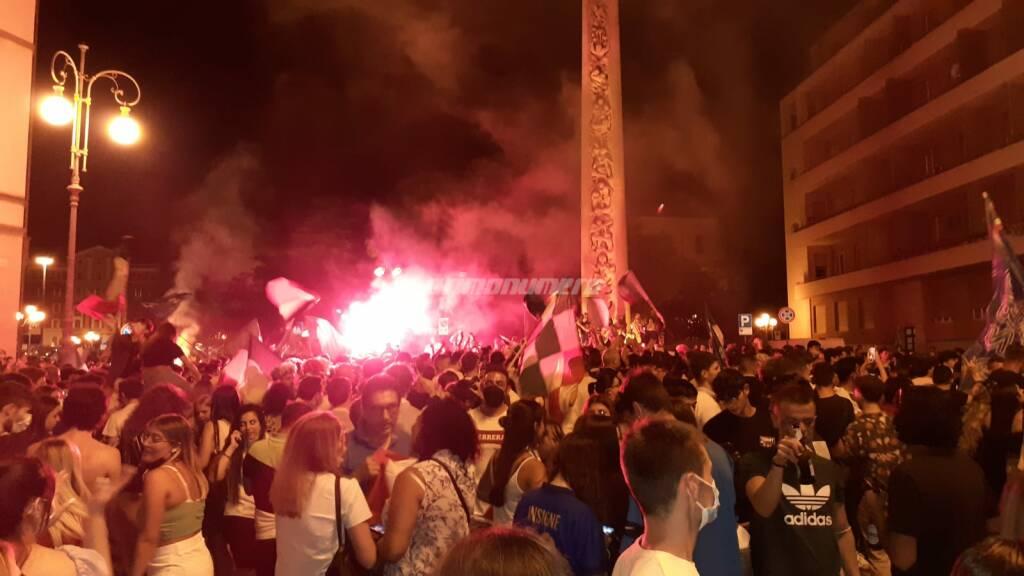 Azzurri campioni d'Europa, le immagini della festa a Campobasso
