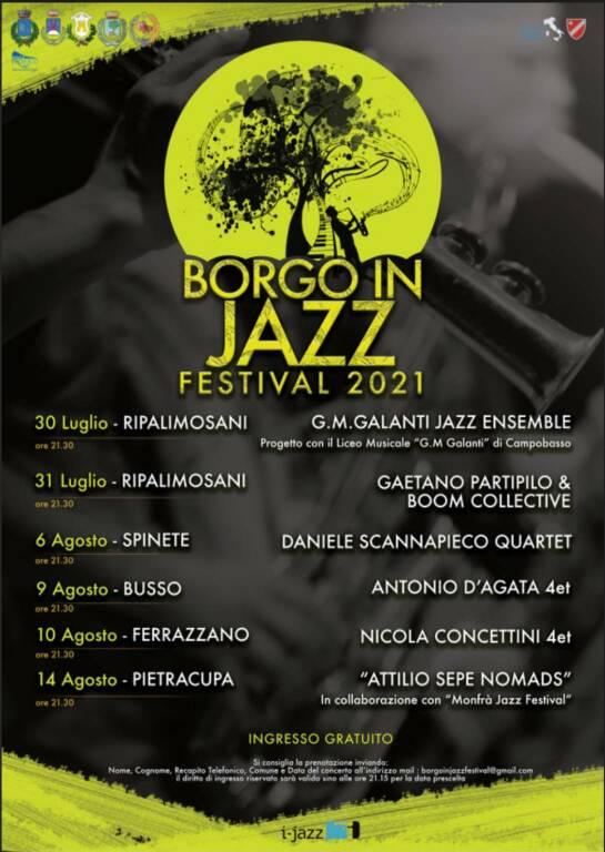 Cartellone jazz Ripalimosani