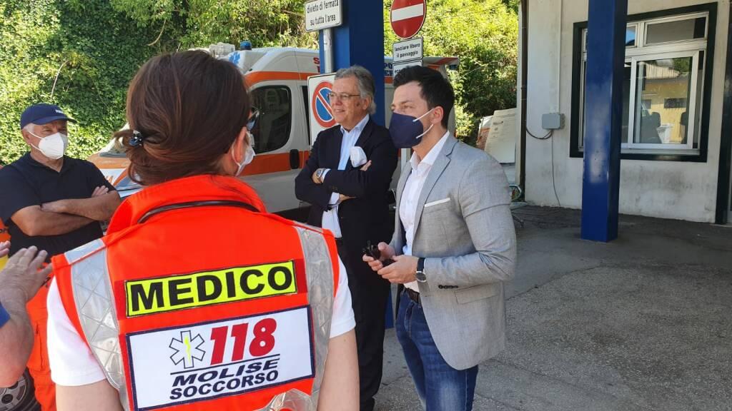 Greco Nola M5S conferenza ospedale Veneziale Isernia