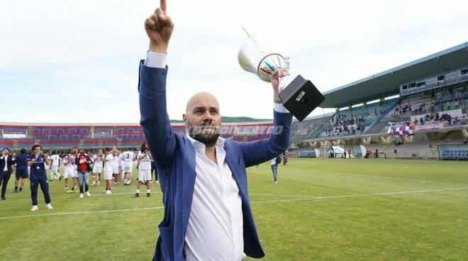 Mario Gesuè presidente Campobasso Calcio