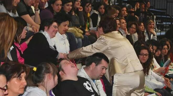 Angela Fusco Perrella disabili foto Aipd Campobasso