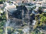 Incendio a Tufara 9 luglio 2021