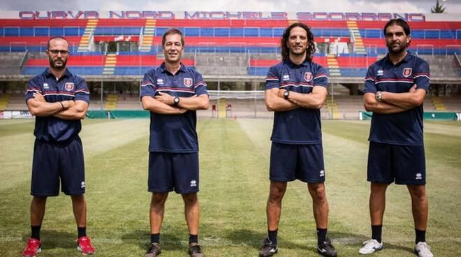 Campobasso calcio stagione 21-22 Cudini staff tecnico