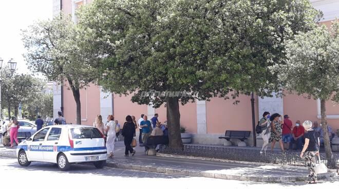 Corso Vittorio Emanuele Campobasso Vigili Municipale