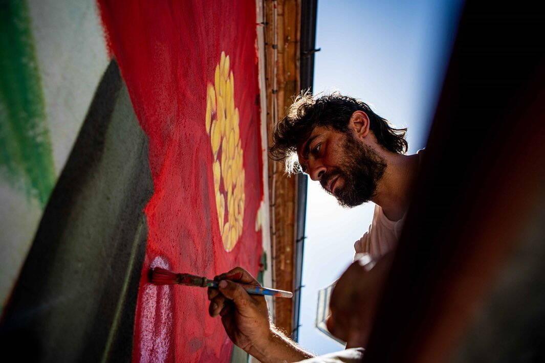 thiago mazza murale civita street fest