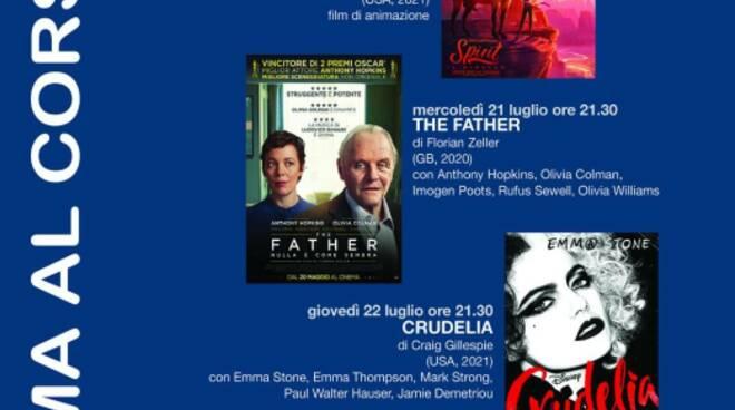 Locandina cinema al corso