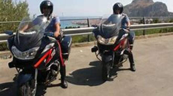 carabinieri moto