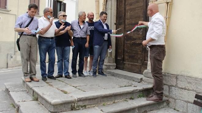 agnone inaugurazione mostra costume sindaco saia