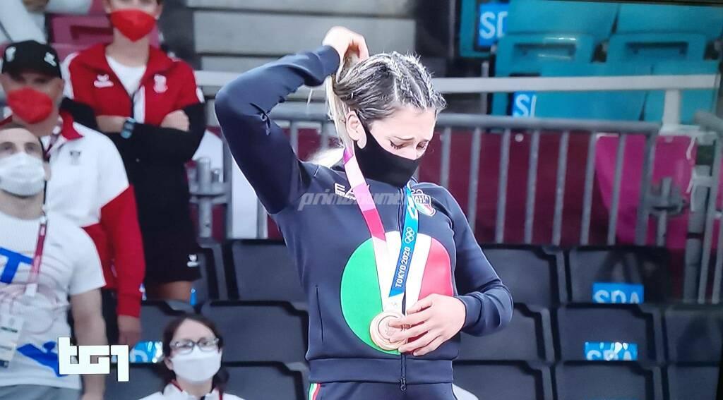 Maria Centracchio Olimpiadi