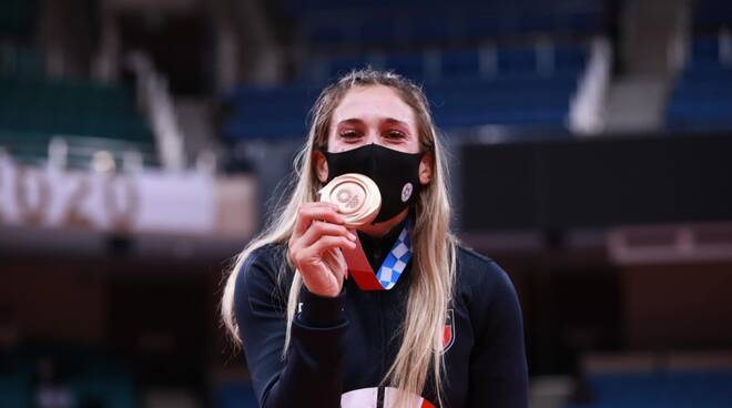 Maria Centracchio medaglia olimpiadi