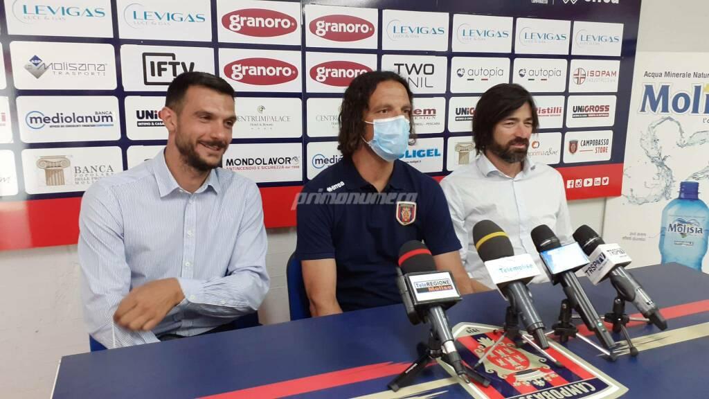 Campobasso Calcio Luigi Mandragora Mirko Cudini Stefano De Angelis