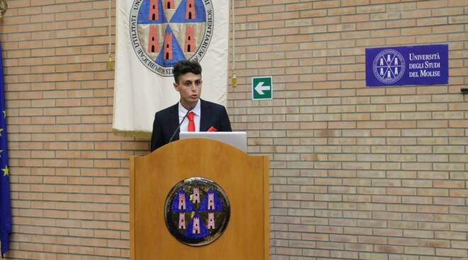 Auguri laurea Giuseppe Palumbi